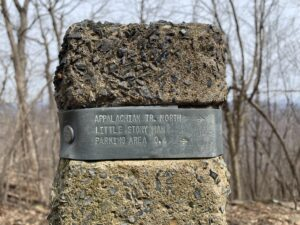Appalachian Gap Trail Marker