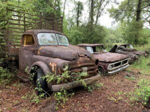 Truck Graveyard, Crawfordville, FL
