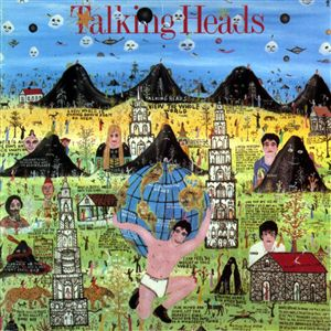 "Talking Heads ""Little Creatures"" Album Art"